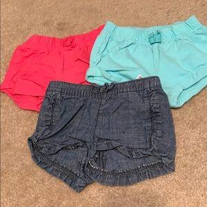 🌈4/$25🌈 Old Navy Shorts, Set of 3